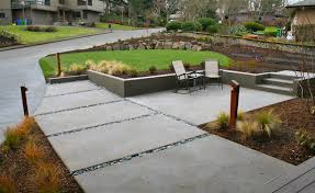 Front Patio Design After Contemporary Front Patio Contemporary Landscape