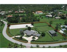 Red Barn In Loxahatchee Fl 5acres Loxahatchee Florida Equestrian Horse Farm For Sale Real