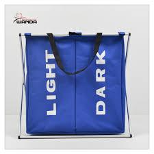 laundry sorters and hampers new laundry sorter hamper 2 bin bags section basket lights darks