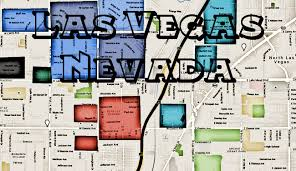 Downtown Las Vegas Map by Las Vegas Gangs And Las Vegas Hoods Map