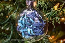 curled paper strips christmas ornament typically simple