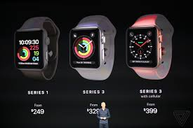 new apple watch series 3 announced with lte the verge
