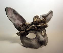 rabbit mask halloween make everything a visual diary of my creative pursuits