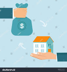 Selling House Vector Real Estate Concept Flat Style Stock Vector 226089940