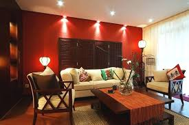 living room with red accents red accent wall triumphcsuite co