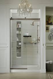 kohler bathroom ideas bathroom trendy design kohler levity shower door with cool vanity