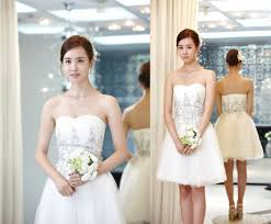 wedding dress pendek wedding bells are ringing and wedding dresses soompi