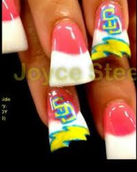 san diego chargers nail art pinterest san diego