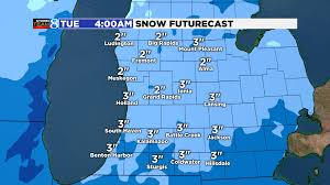 Coldwater Michigan Map by Winter Weather Advisory Woodtv Com