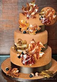 wedding theme 24 fall wedding cakes that wow 2475427 weddbook