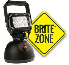 britezone led work light 1100 lumens large hand held