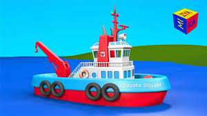 boats and ships for children construction game tugboat