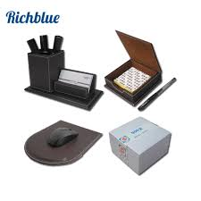 Desk Accessory Set by Online Get Cheap Leather Stationery Sets Aliexpress Com Alibaba