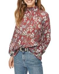 tunic blouse get this amazing shopping deal on topshop floral pleat tunic blouse