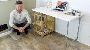 Diy Ikea Desk Ikea Hack Computer Desk Diy Project