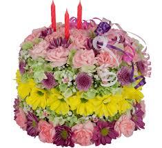 birthday flower cake happy birthday flower cake birthday flowers canada flowers ca