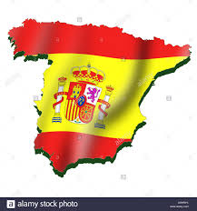 Spanish Empire Flag Spain Map Stock Photos U0026 Spain Map Stock Images Alamy