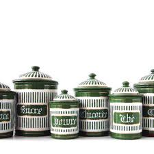 green kitchen canister set best green canister set products on wanelo