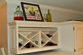 kitchen design sensational wine cabinet hanging wine rack built
