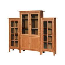 Wall Unit Bookshelves - shaker bookcases vermont woods studios