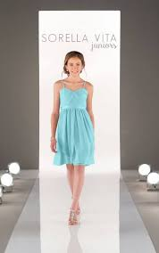 convertible bridesmaid dress with satin belt sorella vita