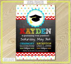 preschool graduation invitations preschool graduation invitations dancemomsinfo