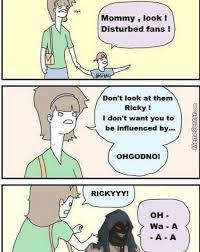 Ricky Meme - ricky got down with the sickness by clydeunforgiven meme center
