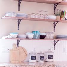 where to put glasses in kitchen without cabinets 6 creative storage solutions for a kitchen with no