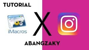 javascript imacros tutorial javascript imacros instagram auto comment like with filter