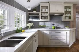 kitchen kitchen color schemes with grey cabinets blue gray