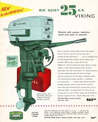 1956 eaton u0027s vikings vintage outboards pinterest vikings