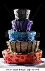 drawings of super cool wedding cake very funky and fun this