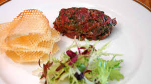 tartare cuisine steak tartare with pommes gaufrettes recipe sbs food