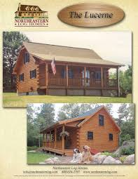 premier log home series