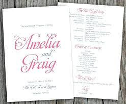 diy wedding program fan template template diy wedding program fans template