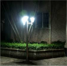 outdoor lamp post lights in garden u2014 all home design ideas