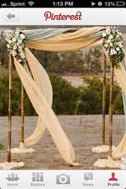 wedding arches bamboo diy archway weddings style and decor do it yourself wedding