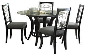 black round dining table set innovative black dining room sets round and round dining room table