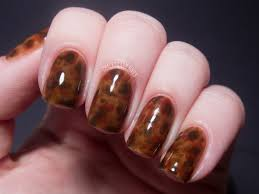 tortoiseshell nails chalkboard nails nail art blog