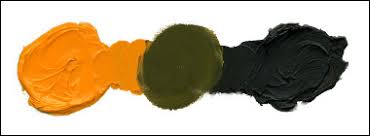 oil painting tips part 2 mixing colors to get brown and black