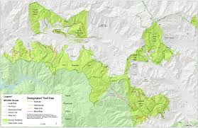 China Camp Trail Map by Open Space Systems Designation Marin County Parks Open Space