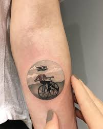 round tattoos by eva krdbk tell fantastic stories round tattoo