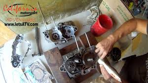 how to repair the transmission of honda crf 450 x transmission