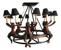 Arte De Mexico Light Fixtures by Vintage U0026 Used Black Chandeliers Chairish