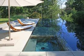 Aquascapes Pools Marvelous Infinity Edge Trend Dc Metro Modern Pool Remodeling