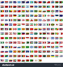 World Flag World Flag Collection Stock Illustration 156665834 Shutterstock