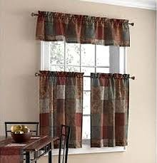 Tuscany Kitchen Curtains by Window Kitchen Curtains Sets Amazon Com
