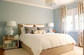 contemporary master bedroom with shade chandelier by niche