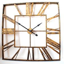 charming large square wall clock 109 large square decorative wall