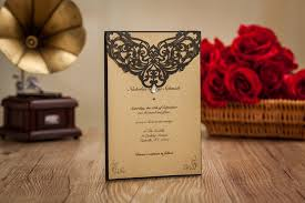 Marriage Card Design And Price Compare Prices On Black Invitation Wedding Card Design Online